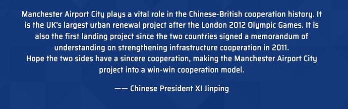 Xi on the UK