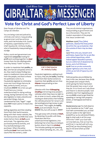 5. GM5 - Vote for Christ and God's Perfect Law of Liberty 1