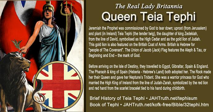 Queen Teia Tephi Britannia