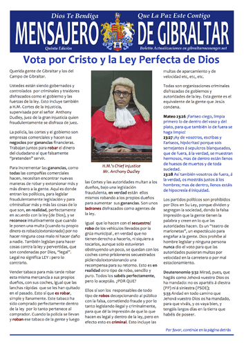5. GM5 (Spanish) -  Vota por Cristo y la Ley Perfecta de Dios 1
