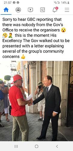 Governor receives doc