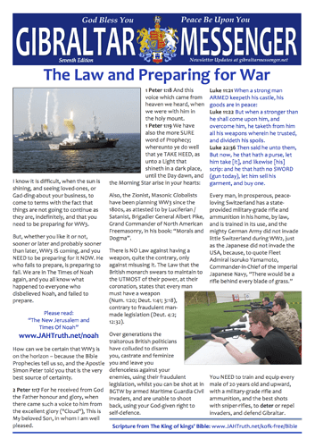 7. GM7 - The Law and Preparing for War 1