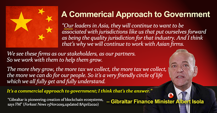 A Commercial Approach to Gov by A Isola