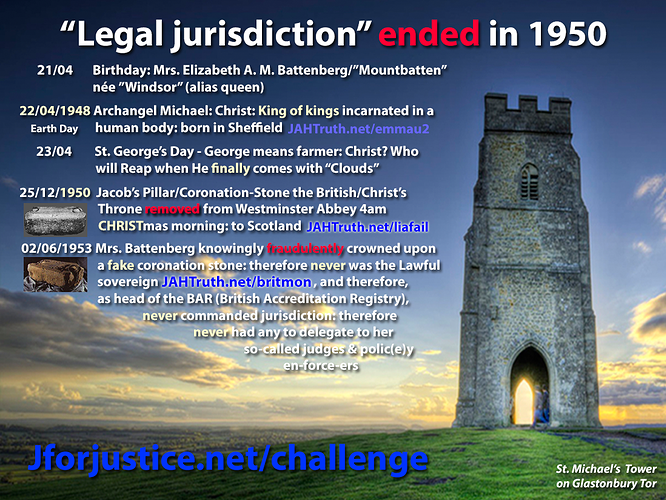 Legal jurisdiction disappeared 1950