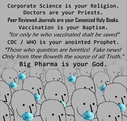 Big Pharma is not your God
