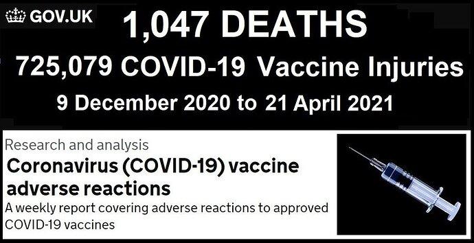vaccine death UK