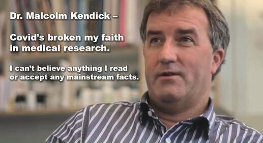 Dr Malcolm Kendrick