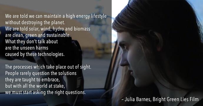 Julia Barnes Quote Bright Green Lies