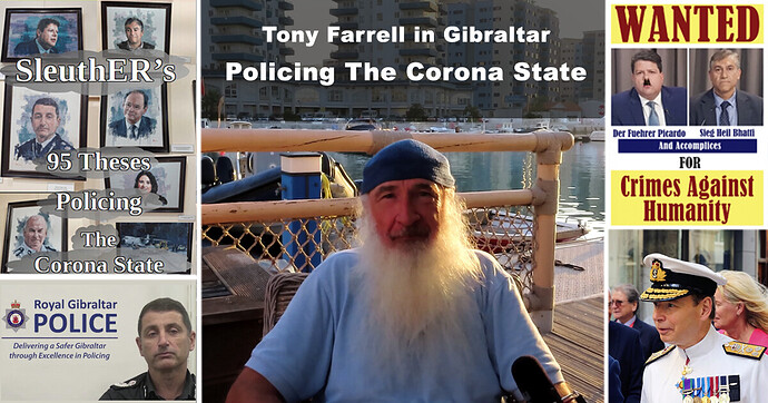 Tony Farrell - Policing The Corona State