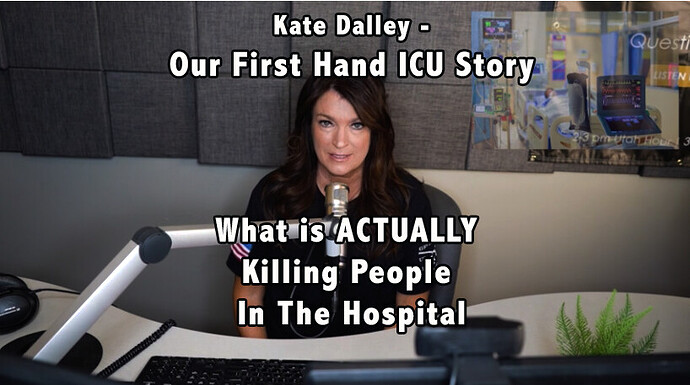 Kate Dalley ICU Story