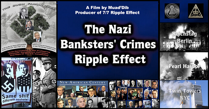 Banksters Crimes Ripple Effect