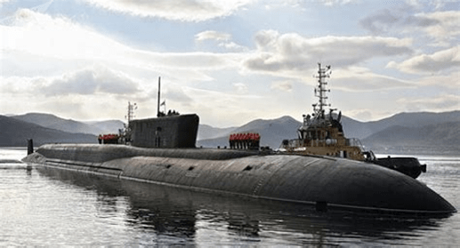Russia's Belgorod Submarine