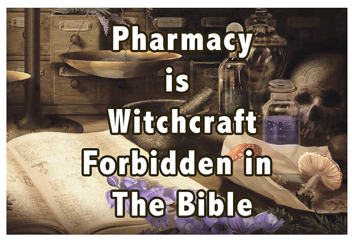 Pharmacy is Witchcraft