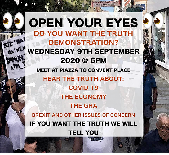 OYE Sept 9 Demonstration