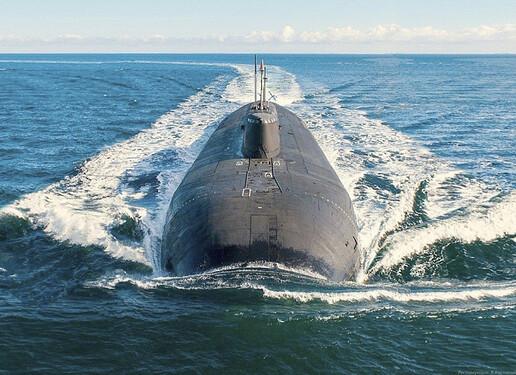 World's Largest Sub - The Russia Belgorod