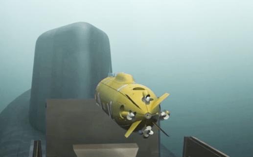 Belgorod's unmanned underwater vehicle