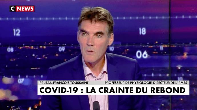 Jean-François Toussaint on CNews France