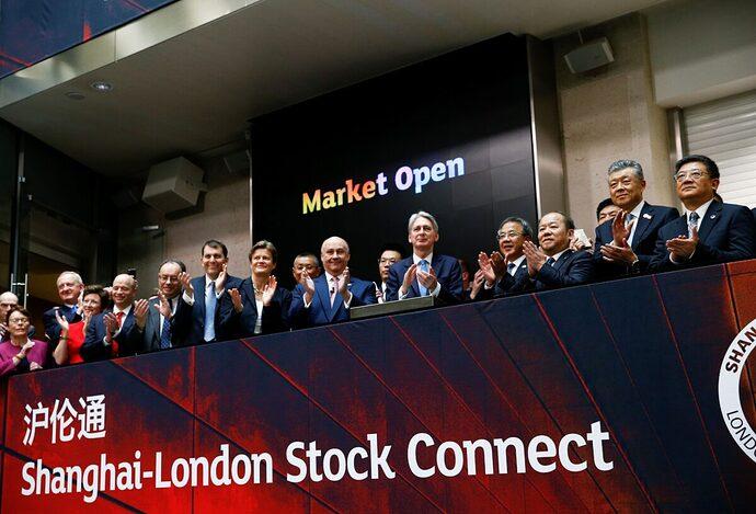london.shanghai.stock.exchange