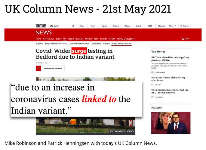 UK Column News 21 May 21
