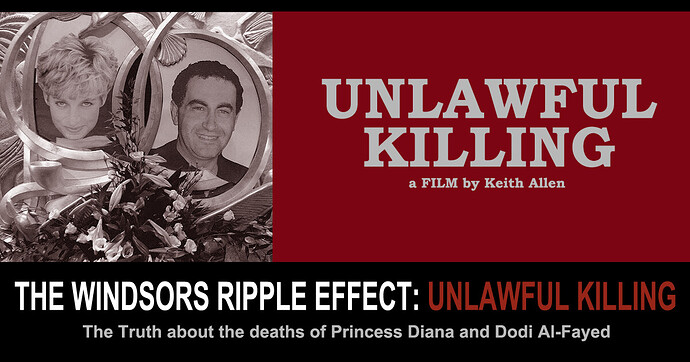 Windsors Ripple Effect - Unlawful Killing