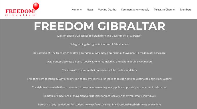 Freedom Gibraltar