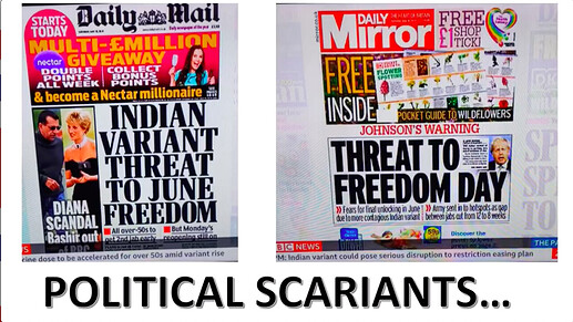 Political Scariants