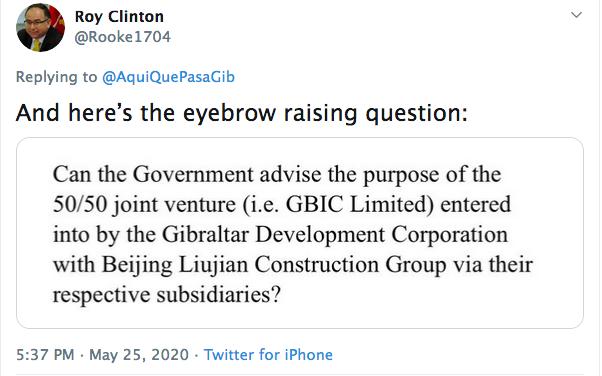 roy clinton question tweet