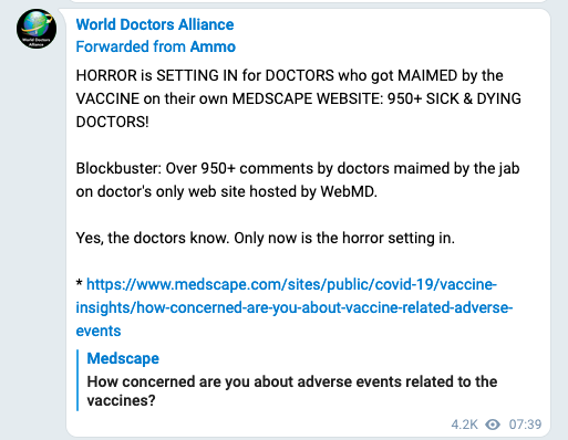 Doctor comments