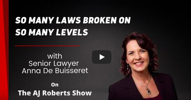 Anna De Buisseret So Many Laws Broken