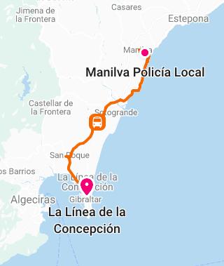 Gibraltar to Manilva