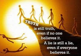 Truth is truthimage