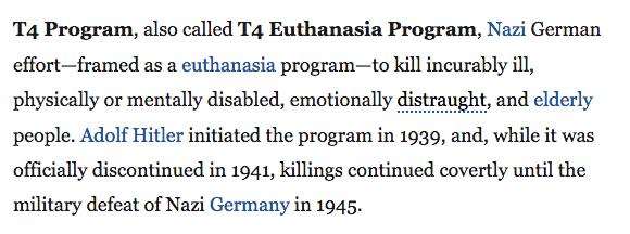 The T4 Program