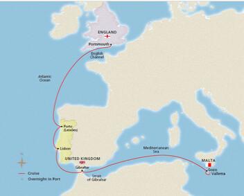 Viking Iberia-Med Tour