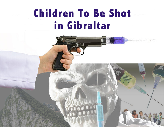 Children to be shot in Gibraltar
