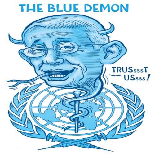 Ben-Garrison-Fauci-blue-UN-Demon