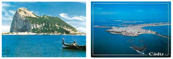 Gibraltar and Cadiz